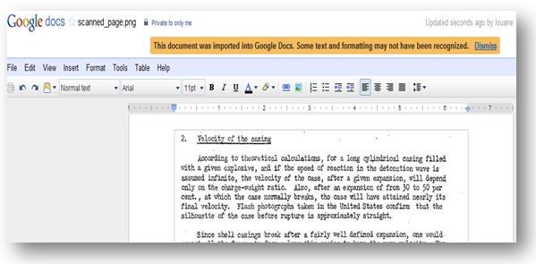 My Free OCR - How to use Google OCR text?